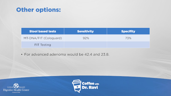 colorectal cancer testing options